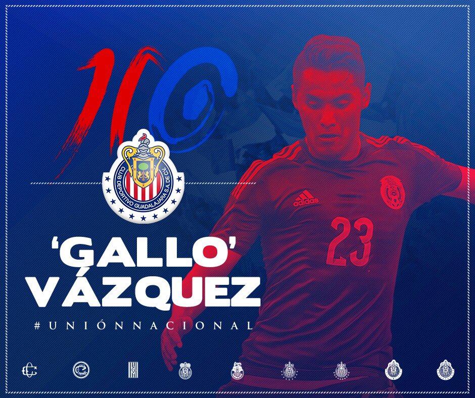 ¡Ya es oficial! ¡Bienvenido al Rebaño, 'Gallito' Vázquez!