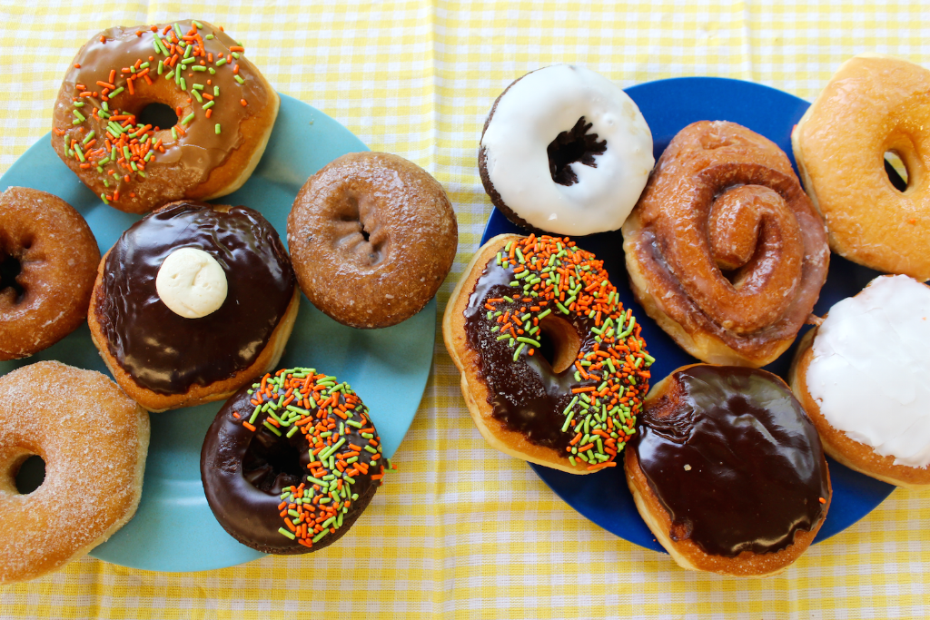 Tomorrow is National Donut Day! Celebrate with us by purchasing a 1/2 dozen donuts and get 1/2 dozen FREE! https://t.co/RgAk88rWmH