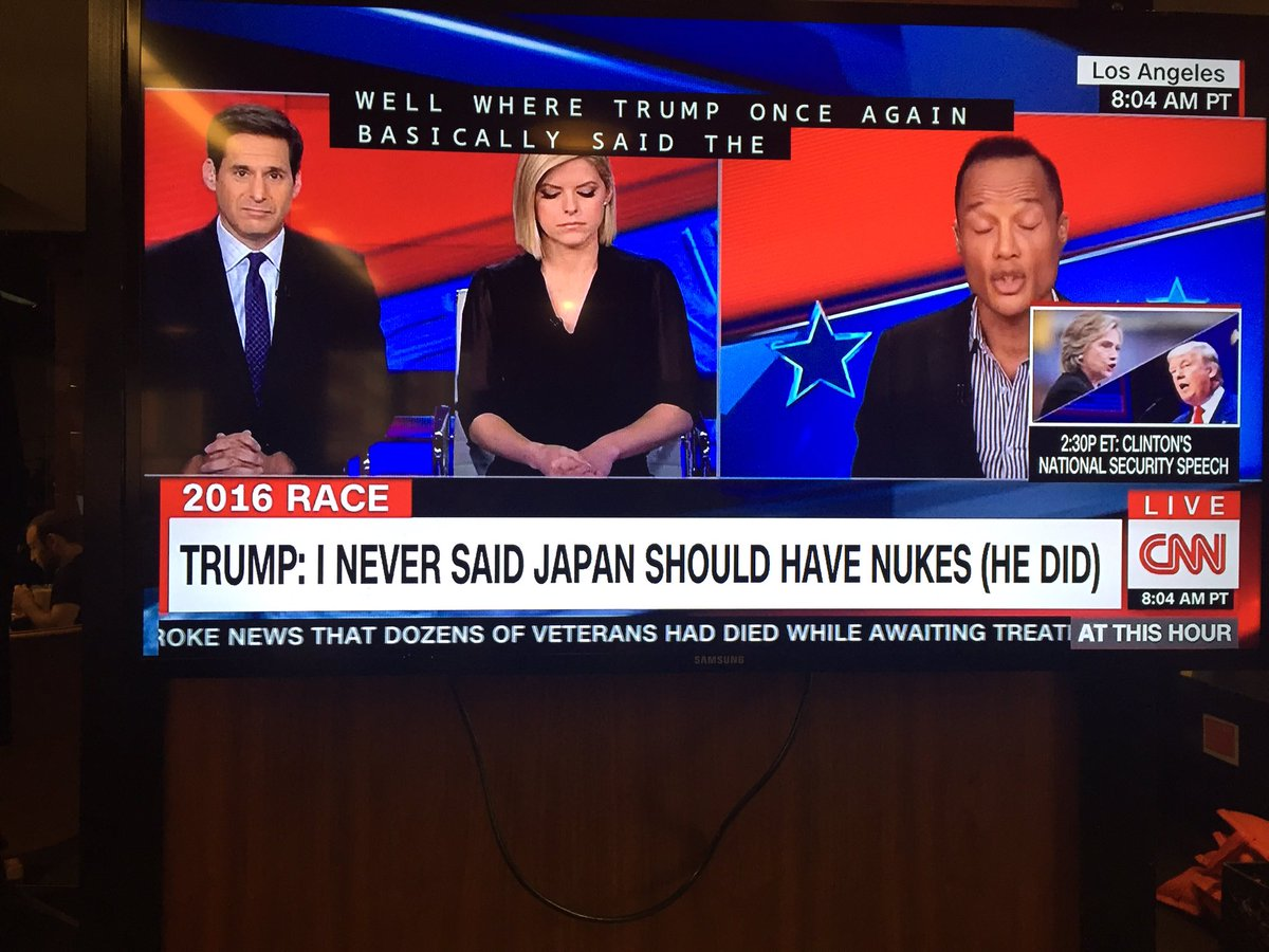 Trump is inspiring CNN to be more creative with its chyrons https://t.co/XAxDiNtoBZ