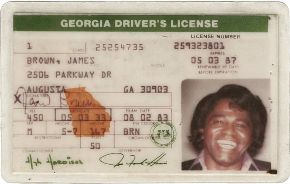 copy of drivers license ga