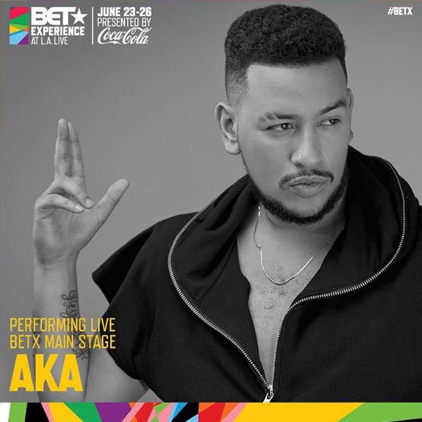 This just in! SA's SUPA MEGA @akaworldwide will be performing on the #BETX main stage Sat 25th June #BETAWARDS https://t.co/SYWXTo5dJ3