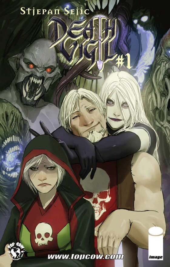 Click here to read Death Vigil #1 - FREE! https://t.co/d533gaCGll https://t.co/udruHwrE1N