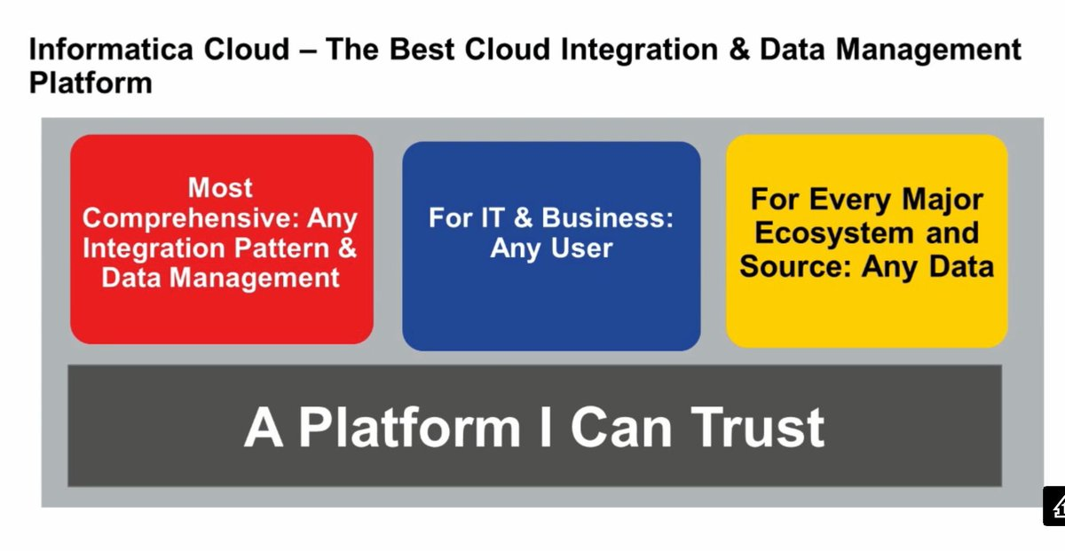 The @Informatica #Cloud Integration & Data Management Platform is for any IT & Business user https://t.co/6XCfbzlqXW