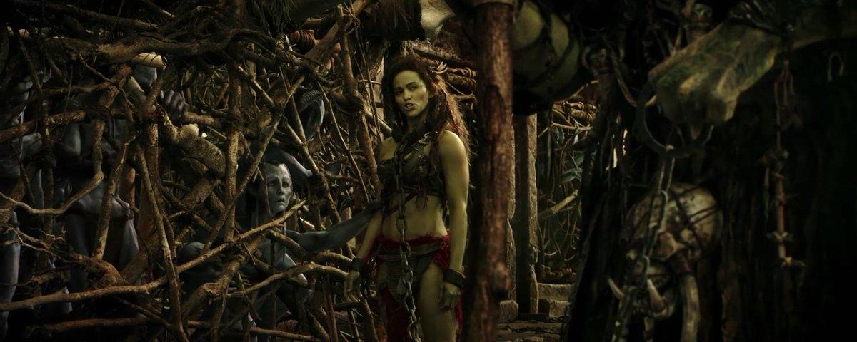 Kelson On Twitter Garona With Draenei Prisoner Warcraftmovie