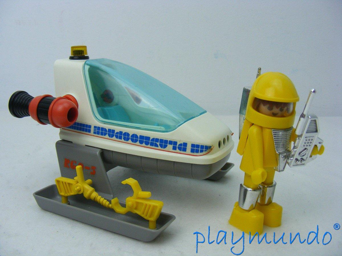 Playmundo on twitter playmobil 3509 playmospace nave for Nave espacial playmobil