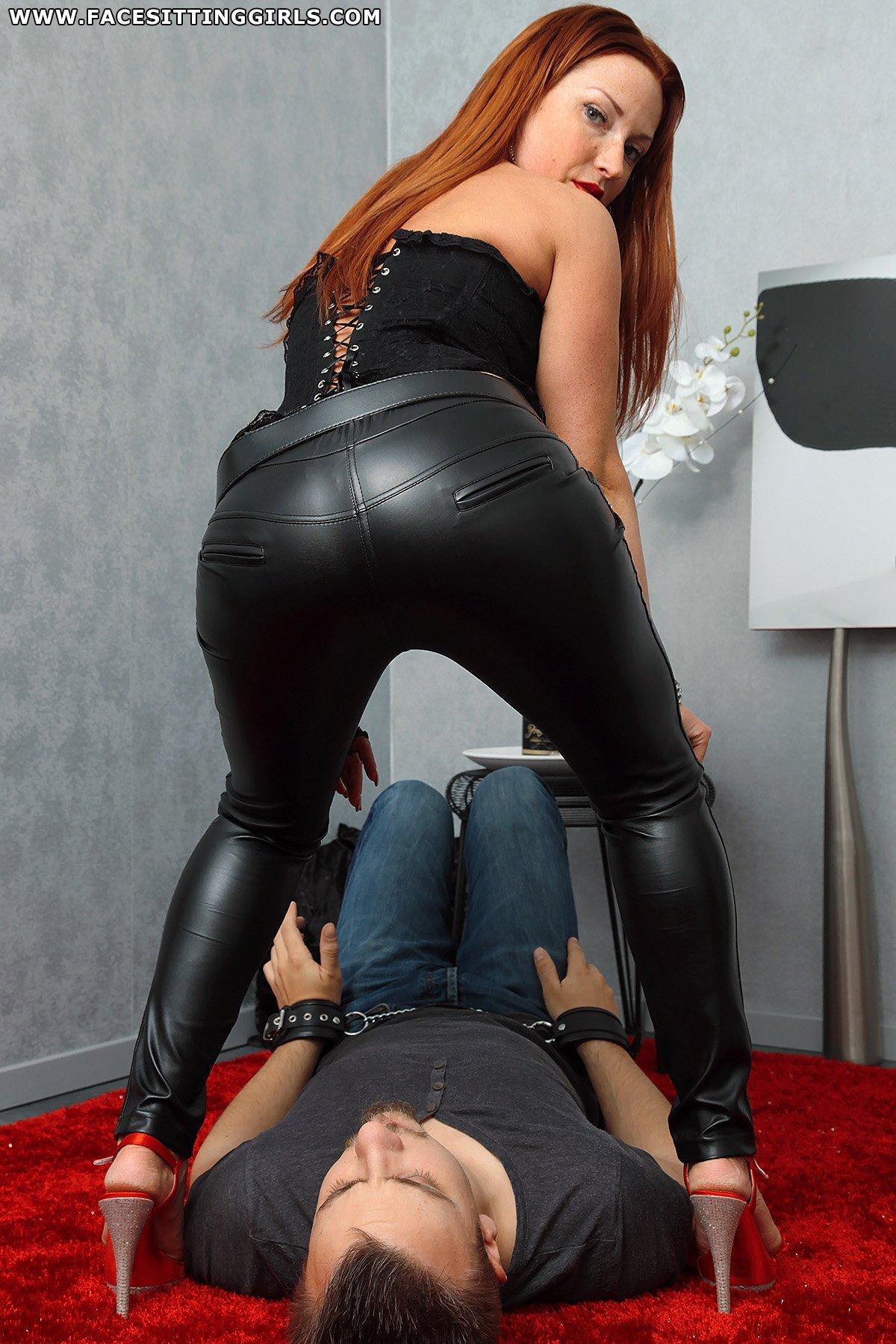 from Dayton women in leather pants xxx