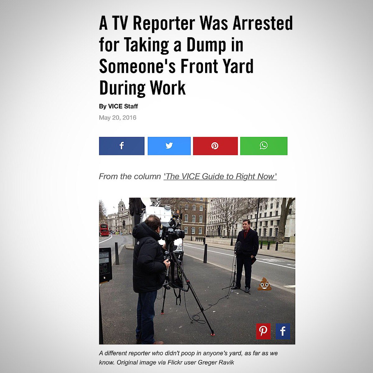 Of all the reporters, in all the countries, in all the world, they chose me to illustrate this story. Cheers @VICE https://t.co/4fo9zBzgpn