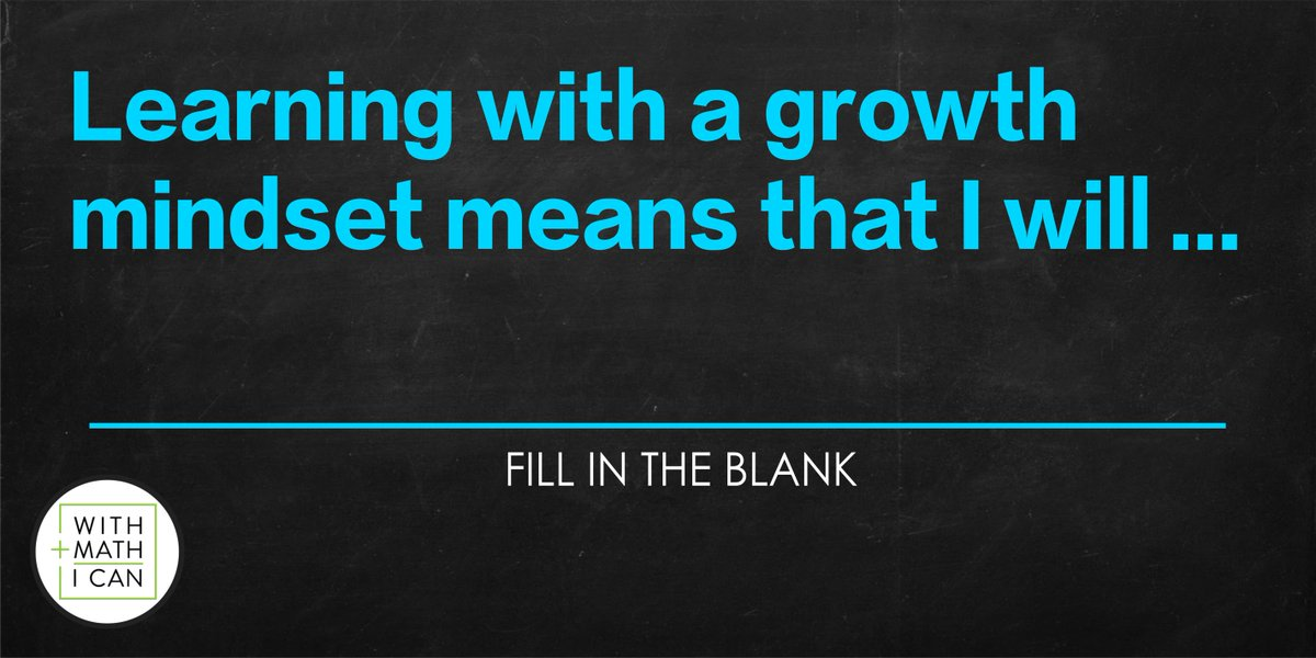 What does learning with a #growthmindset mean to YOU? https://t.co/rOV1mQGWMV