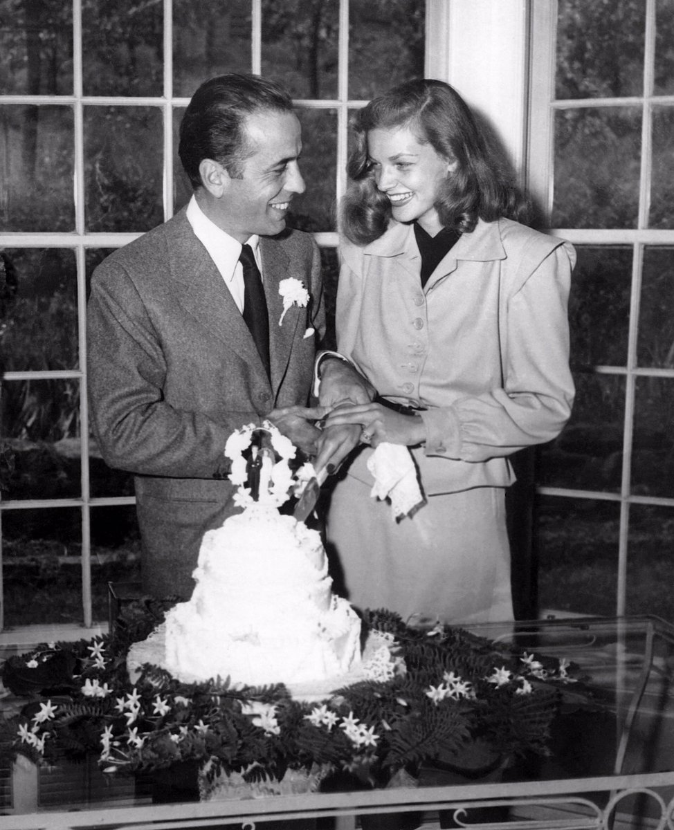 Bogartestate On Twitter Humphrey Bogart And Lauren Bacall Got Married This Day In 1945 At Author Louis Bromfield S Malabar Farm Ohio