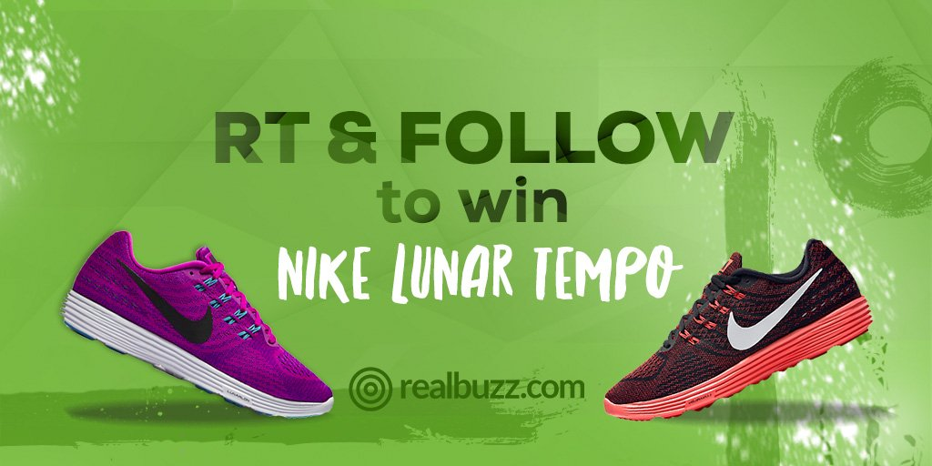 #Win Nike #running shoes in our May #competition #giveaway. Follow & RT to enter. #realbuzzWin #fitfampic.twitter.com/SMbJWTww4D