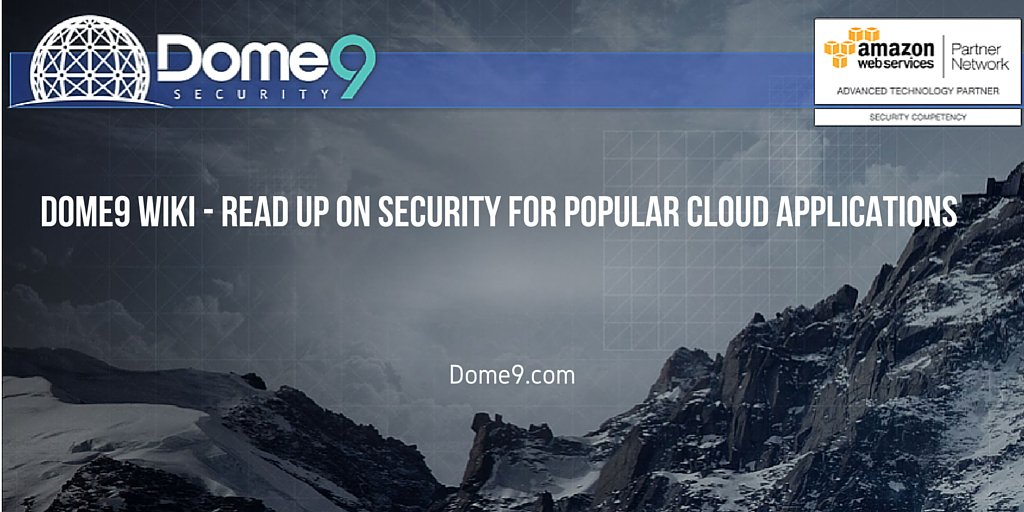 Dome9 Security on Twitter: