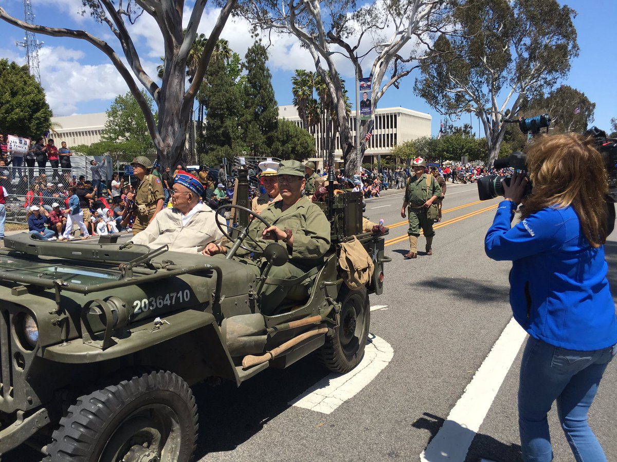 Covering #ArmedForcesDay parade in @Torrance for @ktla tonight https://t.co/CD70Kk7jpw