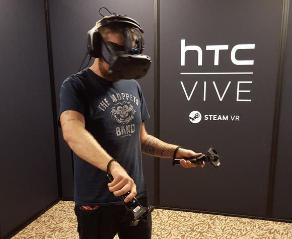 I'm a believer: How HTC's Vive convinced me that VR has legs