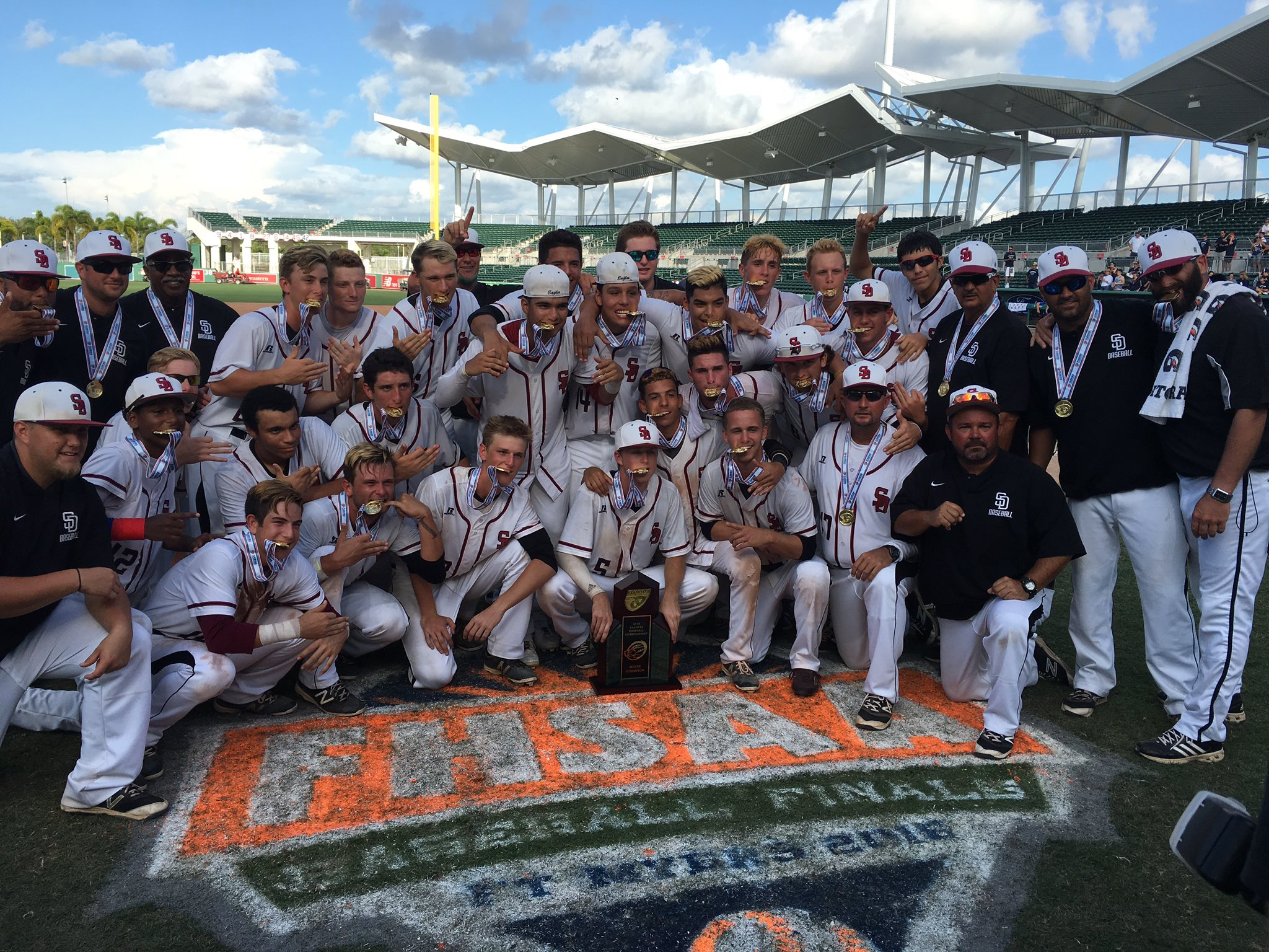 Douglas Baseball Wins State Title For First Time in School History (Multimedia)