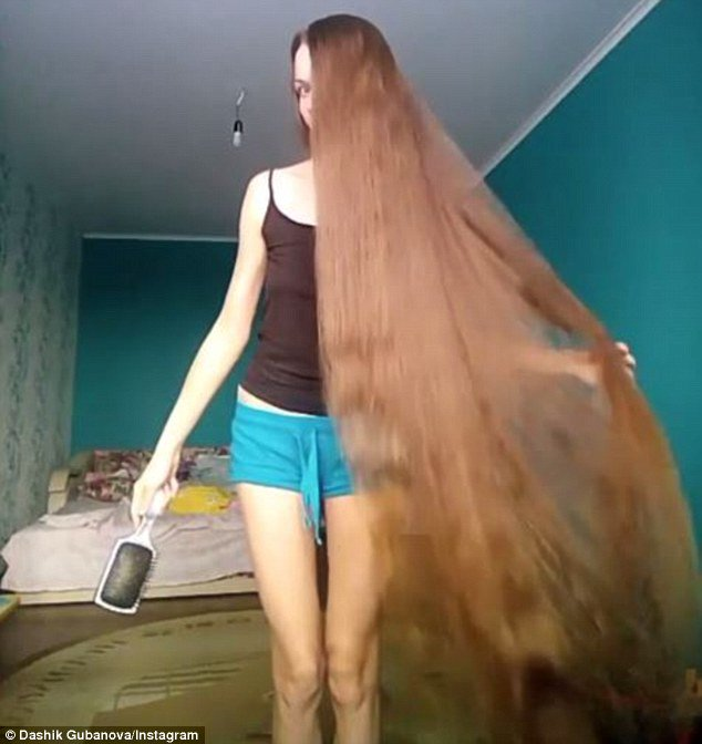 Real Life Rapunzel Russian With 150cm Long Locks Has Been