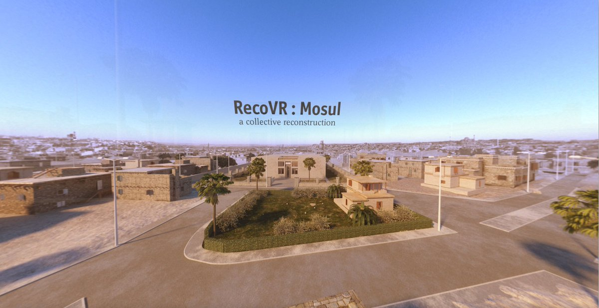 "Virtual reality: Introducing ""RecoVR Mosul"", The Economist's first VR experience"