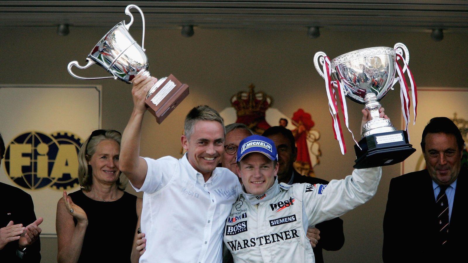 On this day in 2005 - Kimi Räikkönen won the Monaco GP