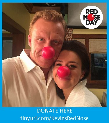 We may have more @TheRealKMcKidd & #GreysAnatomy cast #RedNose4Kids pics ;) Get us to $1000 https://t.co/ZP27fUE6Q9 https://t.co/ftmjT0NnsZ
