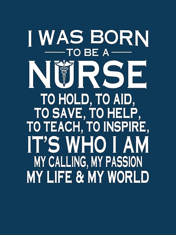 Nurse Quotes Cool Nurse Quotes On Twitter I Was Born To Be A Nurse NurseLife