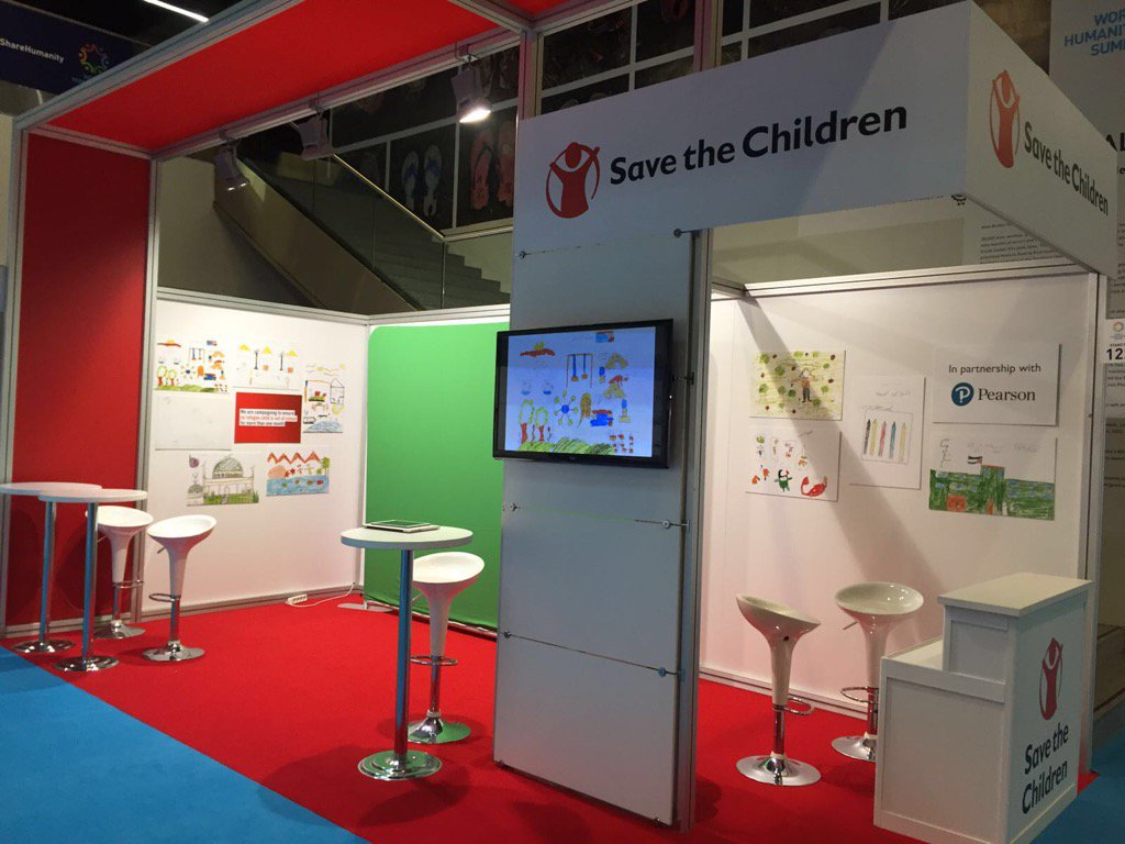 We are ready at @WHSummit.. Stop by & see what children drew as safe spaces & live the experience. #EveryLastChild https://t.co/Xwq61ZnQZ6