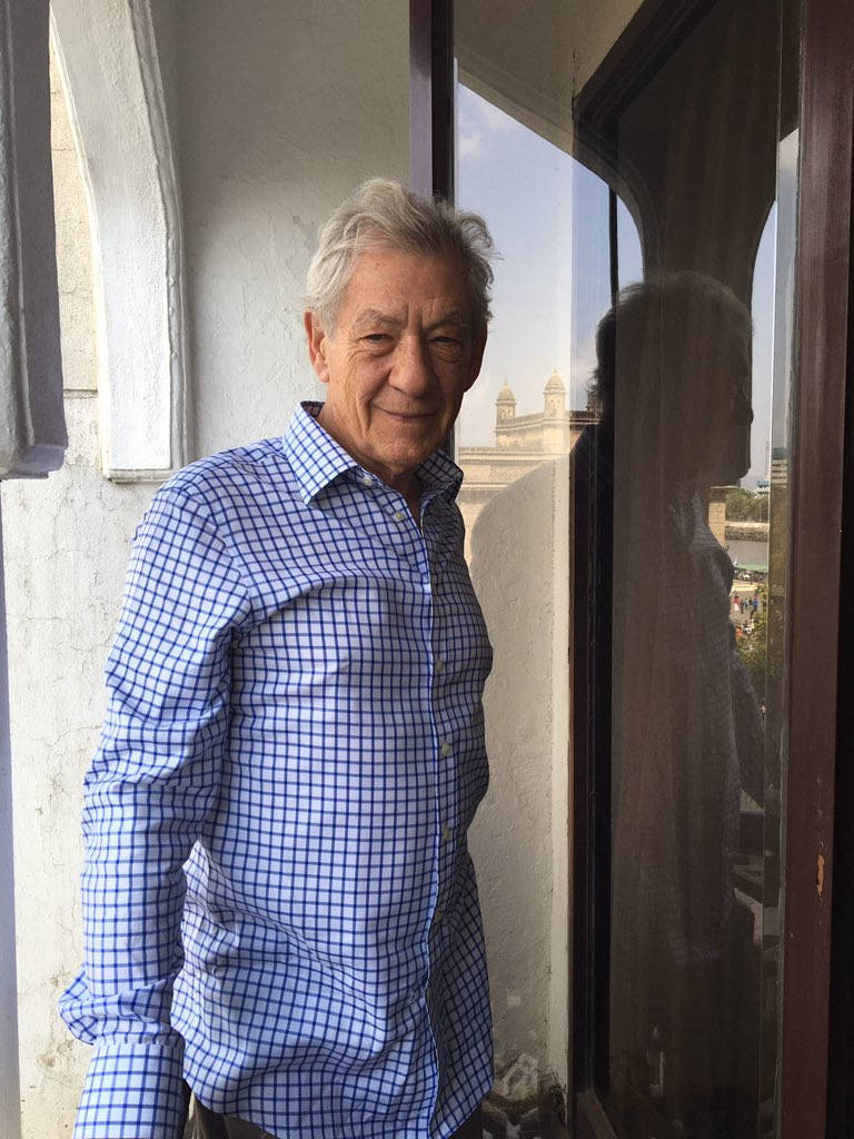 We are gearing up for the conversation with @IanMcKellen #ShakespeareLives #MckelleninIndia #tweetchat https://t.co/U2J9eOKw44