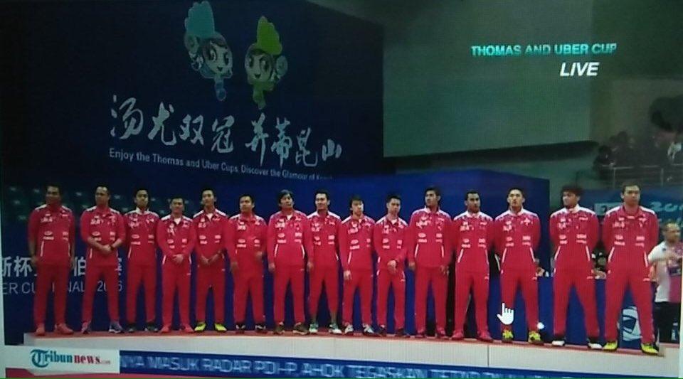 Thank you tim Thomas Indonesia, congrats for Denmark