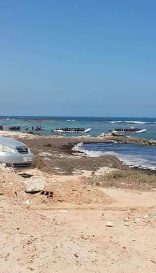 You want to go to Europe?   Everyone can go to Europe!   Boats filled with migrants leaving #Libya's coast #Sabratha https://t.co/5Ng8w4QLQq