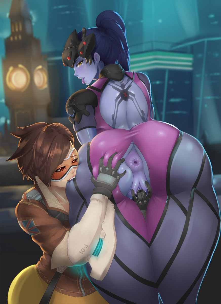 Futanari Overwatch Tracer And Widowmaker Overwatch Hentai