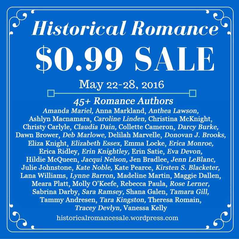 Time to load your e-reader!! For 1 week only, get 45 historical romances for $.99 each! https://t.co/VO2L307PO5 https://t.co/bqfXKL5Emc