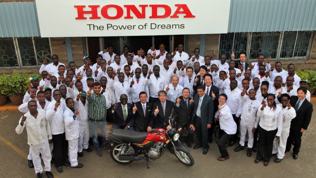 "dr. isaac kalua on twitter: ""honda motorcycle kenya team with"