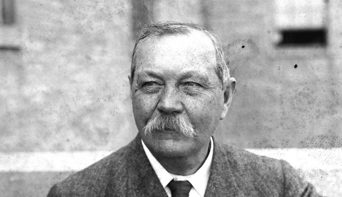 Happy 157th Arthur Conan Doyle. What would he think of us all & his legacy? Where would we be without his works? https://t.co/v5ILaZ2jJC