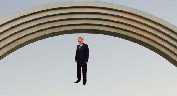 """Перекрасить в национальные орнаменты Украины либо стран Европы, - В """"Правом секторе"""" предложили решения вопроса с Аркой - Цензор.НЕТ 9321"""