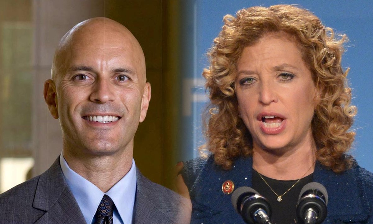 Replacing Debbie Wasserman Schultz With Progressive Tim Canova: https://t.co/fJWIQzBaxu