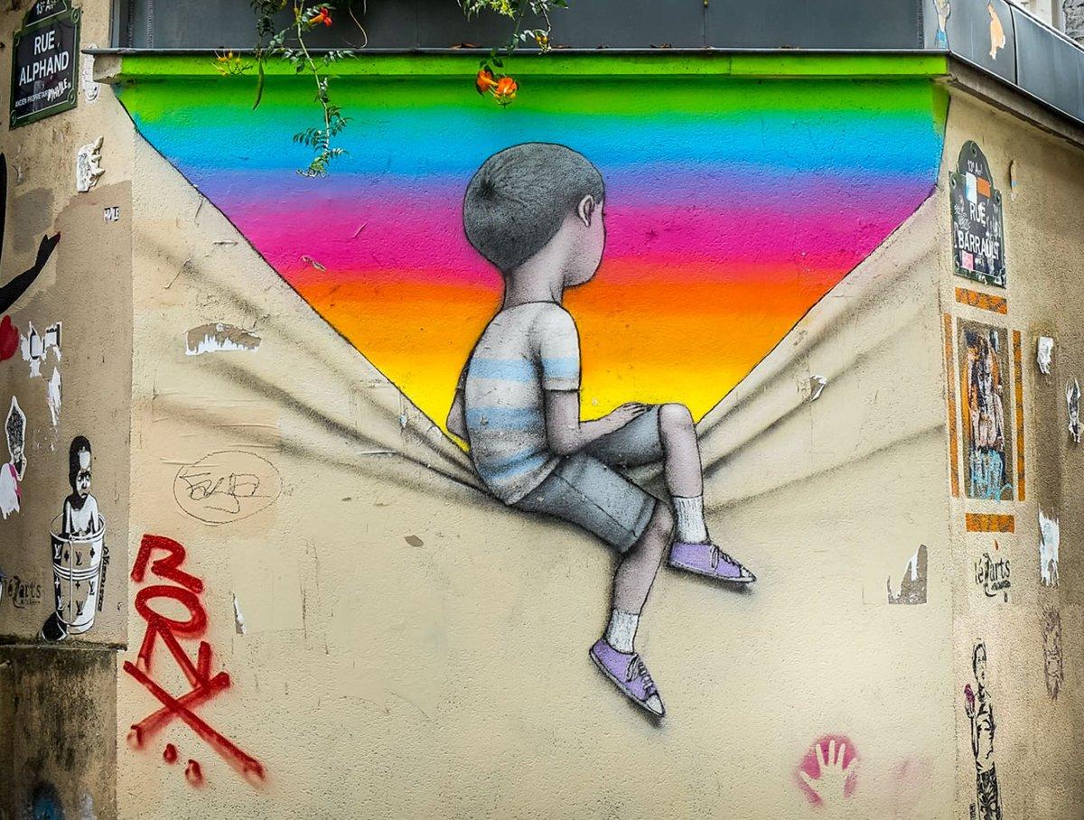 Arcānum A Twitter Arc En Ciel Derrière Le Mur Dessin Du