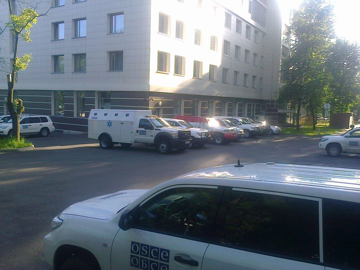 Миссия продолжает мониторинг ситуации в Авдеевке, - ОБСЕ - Цензор.НЕТ 2607
