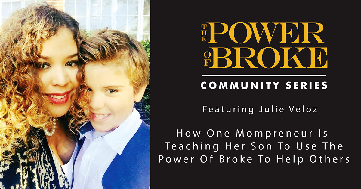 This week's #PowerOfBroke Community Series is out! Highlighting a mompreneur & her son: https://t.co/xaKbXXZUBo