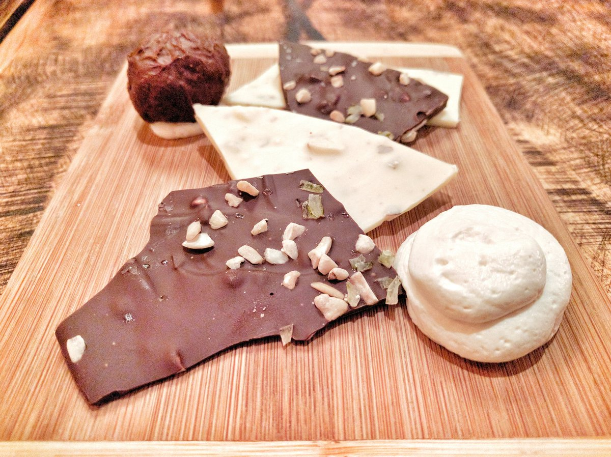 Chocolate Barks and Truffle at Tavola on Water in St. John's, Newfoundland and Labrador