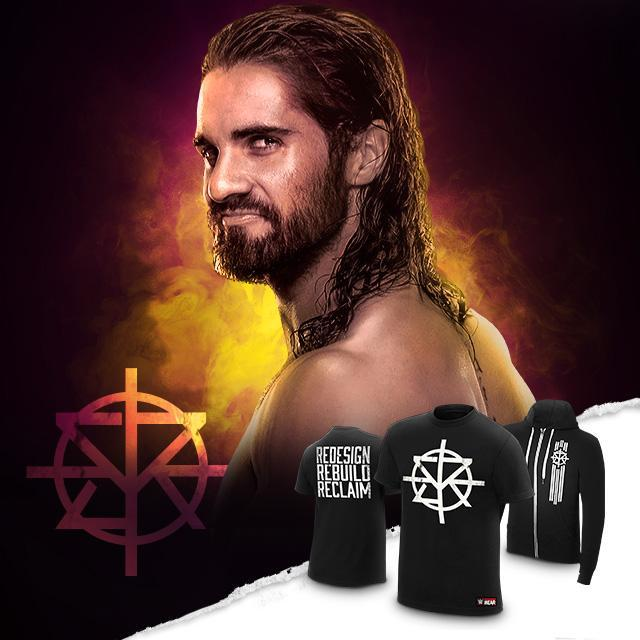 "@WWERollins ""Redesign, Rebuild, Reclaim"" t-shirt & hoodie at #WWEShop! https://t.co/SfVrEwhXdO #WWE #WWEExtremeRules https://t.co/9YKlWbKL7f"