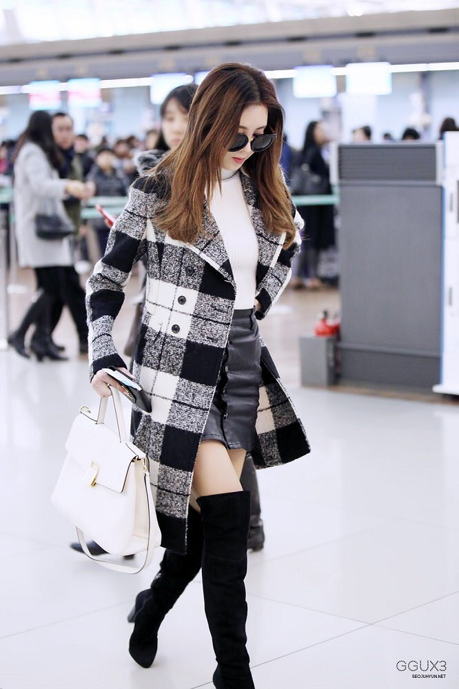 Seohyun's airport fashion - Page 2 - Celebrity Photos ...