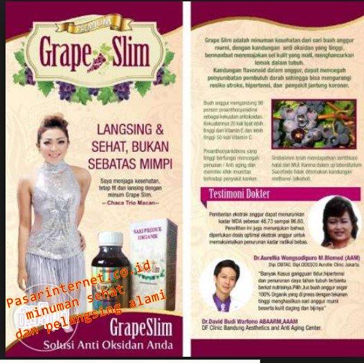 Grape Slim MINUMAN KESEHATAN DAN PELANGSING ALAMI