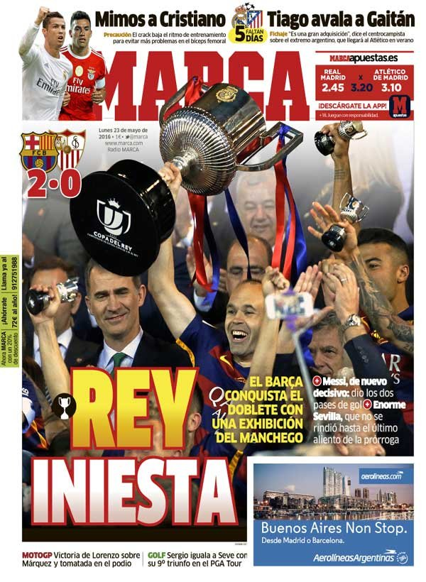 Futbol Español - Magazine cover