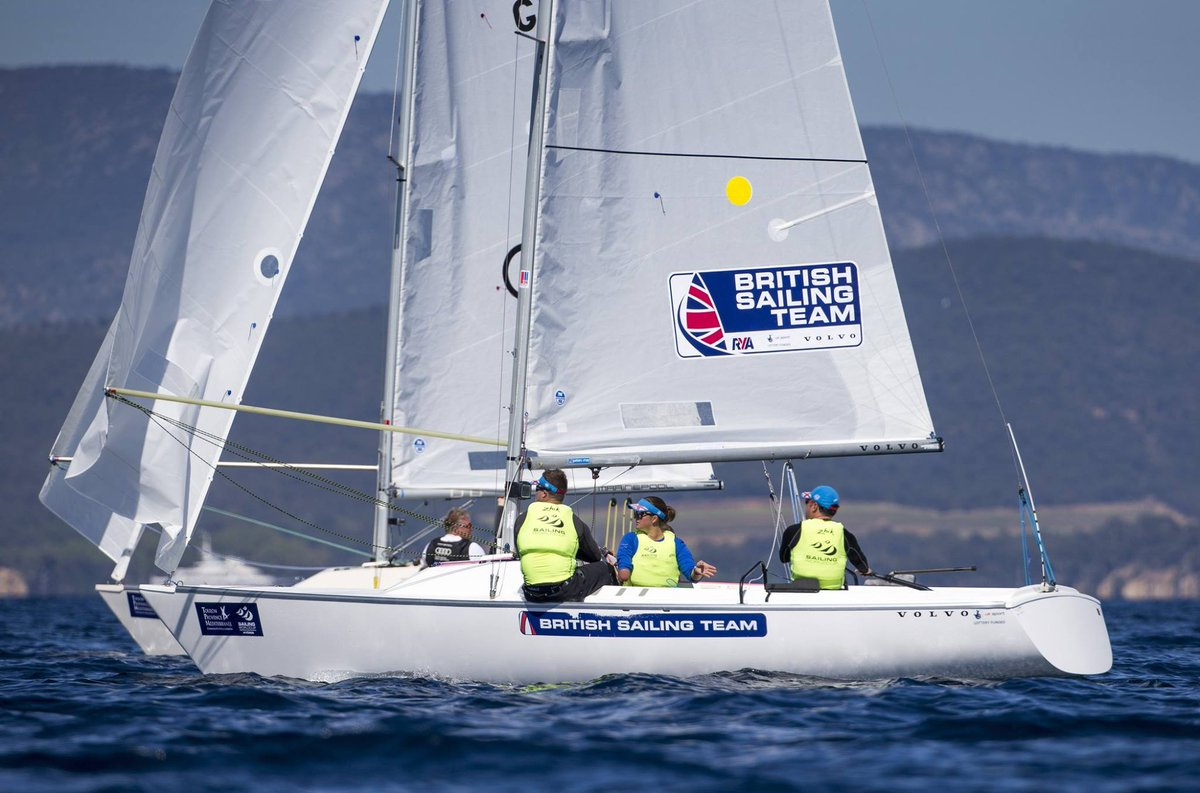 Good Luck to our #TeamVolvo sailors at the Delta Lloyd Para World Sailing Championships #DriveMedalsHome