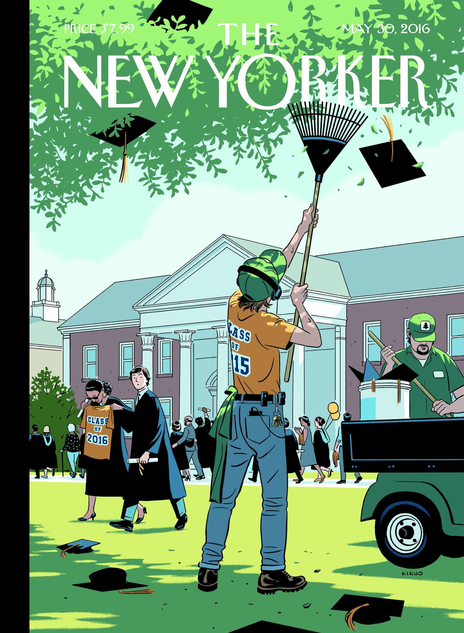 "The New Yorker week's cover, ""Commencement,"" by R. Kikuo Johnson: http://nyer.cm/xHRltB6 pic.twitter.com/F09J66Bw8O"
