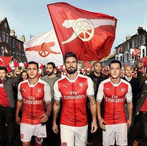 Arsenal V Liverpool The Sanchez Snub And Gunning For: [Photos] Henry, Sanchez & Ozil Help Unveil New 2016/17