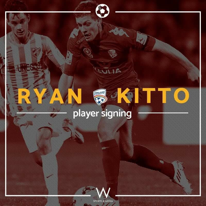 Congratulations to our client, Ryan Kitto who has just signed with reigning @ALeague champions, @AdelaideUnited. https://t.co/i3nynWQxTz