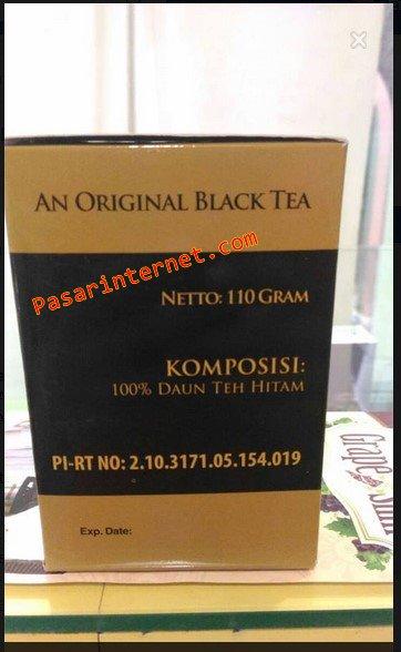 Komposisi teh hitam T'QU