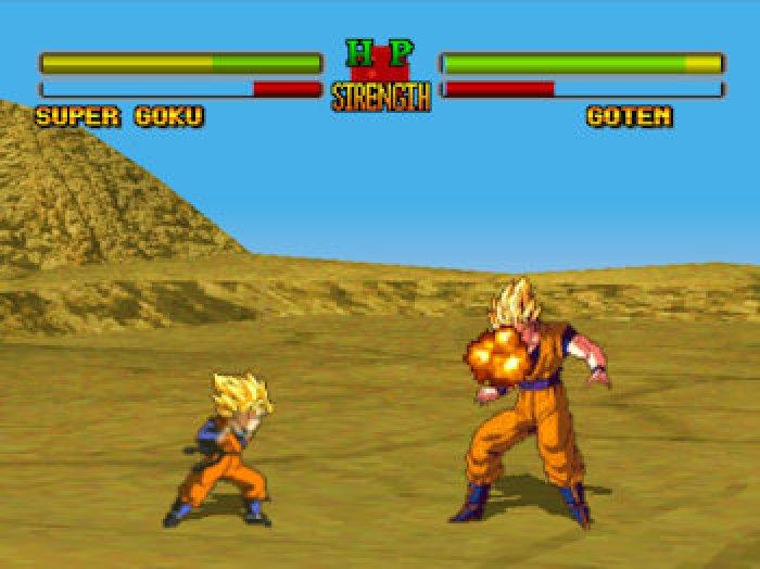 22-Dragon Ball Battle 22. (PSX) Comparado con los de SNES, un retroceso en todos los aspectos salvo los personajes https://t.co/eJ9s9arfM1