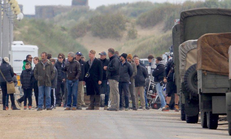 Christopher Nolan's Dunkirk Set Photos 17