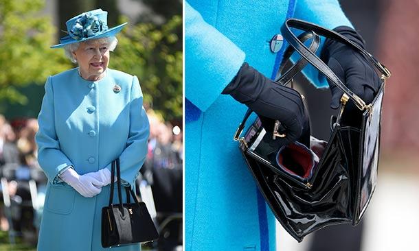 59b86d6d9 Realeza El misterio detrás de la icónica bolsa de la Reina Isabel ...