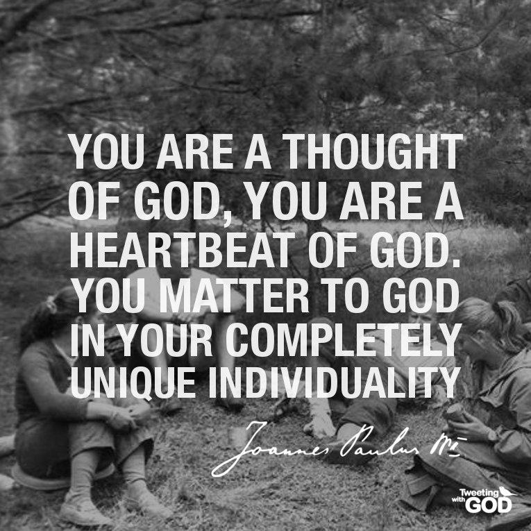 God cares for us